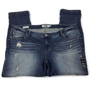 NWOT Torrid Distressed Boyfriend Jeans